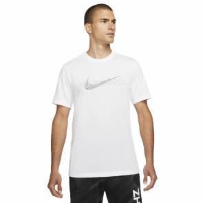 T-shirt Nike Pro Dri-fit Blanc