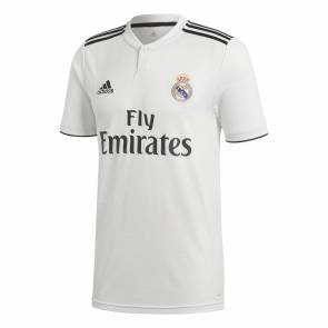 Maillot Adidas Real Domicile 2018-19 Blanc