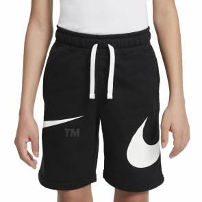 Short Nike Sportswear Swoosh Noir Enfant