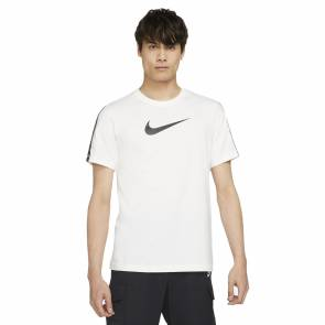 T-shirt Nike Sportswear Repeat Blanc