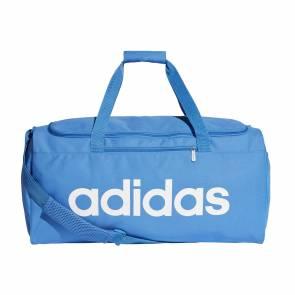 Sac De Sport Adidas Linear Core Format Moyen Bleu / Blanc