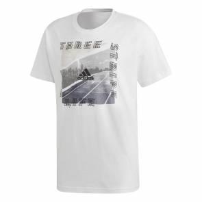T-shirt Adidas Id Photo Blanc
