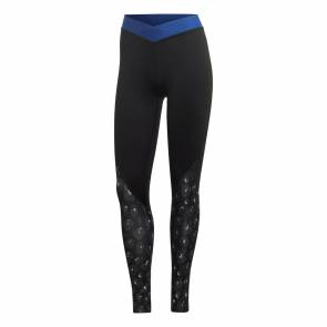 Collants Adidas Alphaskin Iteration Noir / Bleu