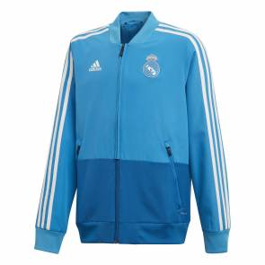 Veste Adidas Real Madrid Presentation Bleu Junior