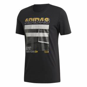 T-shirt Adidas Photo Noir