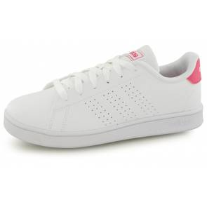 Adidas Advantage Clean Blanc / Rose Junior