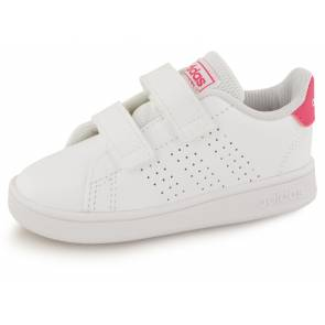 Adidas Vs Advantage Clean Blanc / Rose Bebe