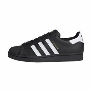 Adidas Superstar Noir / Blanc