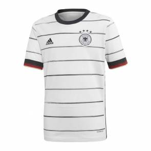 Maillot Adidas Allemagne Domicile Blanc Junior
