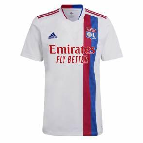Maillot Adidas Ol Domicile 2021-22 Blanc