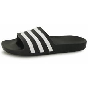 Claquettes Adidas Adilette Aqua Noir / Blanc