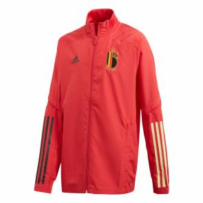Veste Adidas Belgique Presentation Rouge Junior