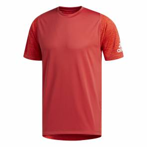 T-shirt Adidas Freelift Geo Rouge