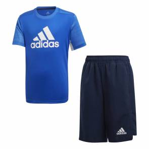 Ensemble Adidas Training Bleu Enfant