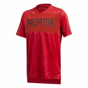 Maillot Adidas Predator Rouge Enfant