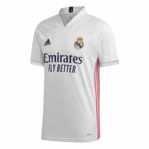 Maillot Adidas Real Madrid Domicile 2020-21 Blanc