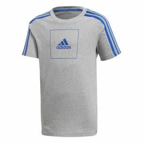 T-shirt Adidas Athletics Club Gris / Bleu Enfant