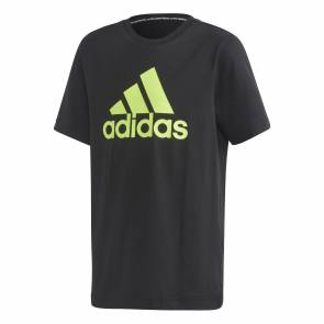 T-shirt Adidas Badge Of Sport Noir Enfant