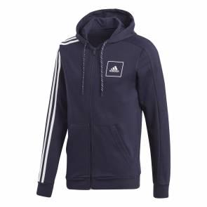 Veste Adidas 3-stripes Tape Bleu