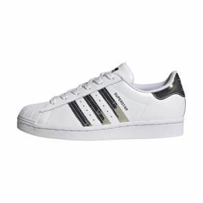 Adidas Superstar Blanc / Argent Femme