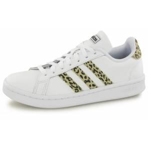 Adidas Grand Court Blanc / Savane Femme