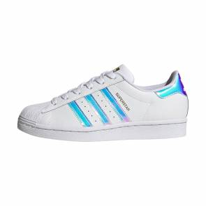 Adidas Superstar Blanc / Iridescent Femme