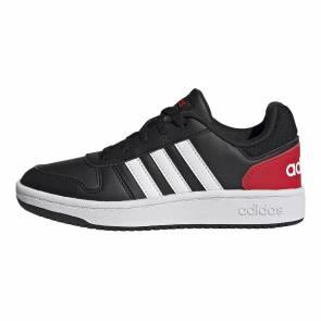 Adidas Hoops Noir / Rouge Enfant