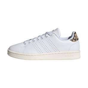 Adidas Advantage Blanc / Camo Femme