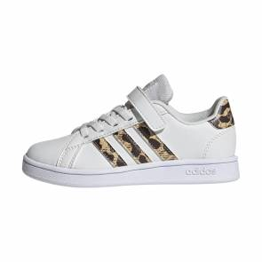 Adidas Grand Court Blanc / Camo Enfant