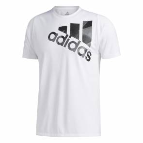 T-shirt Adidas Olympic Blanc