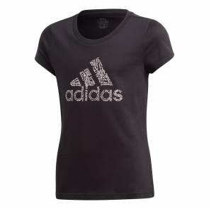 T-shirt Adidas Badge Of Sport Noir Fille