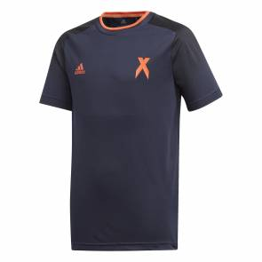 T-shirt Adidas Football Inspired X Aeroready Bleu Enfant
