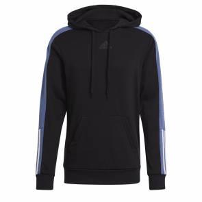 Sweat Adidas Colorblock Noir / Bleu