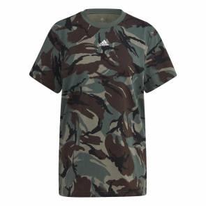 T-shirt Adidas Essentials Boyfriend Camo Femme
