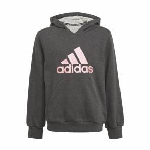 Sweat Adidas Future Icons Logo Gris / Rose Fille