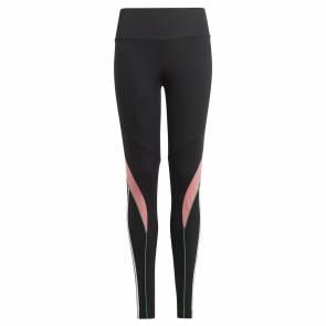 Collants Adidas Believe This Aeroready Noir / Rose Fille