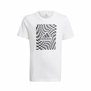 T-shirt Adidas Graphic Blanc Enfant