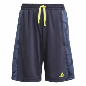 Short Adidas Designed To Move Camo Bleu Enfant