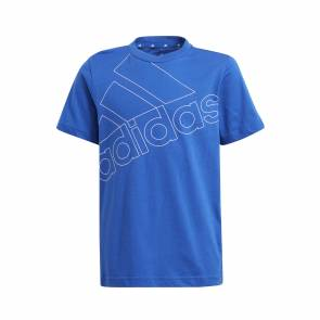 T-shirt Adidas Essentials Logo Bleu Enfant