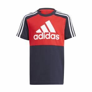 T-shirt Adidas Colorblock Bleu / Rouge Enfant