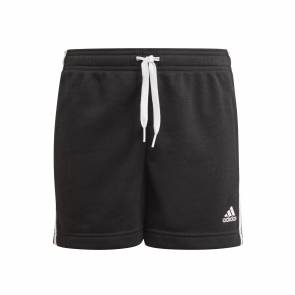 Short Adidas Essentials 3-stripes Noir Fille