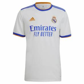 Maillot Adidas Real Madrid Domicile 2021-22 Blanc