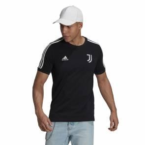 T-shirt Adidas Juventus 3-stripes Noir