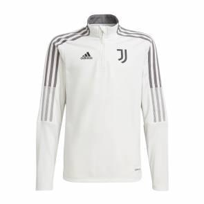 Training Top Adidas Juventus Turin 2021-22 Blanc Enfant