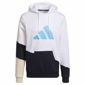 Sweat Adidas Sportswear Colorblock Blanc / Noir