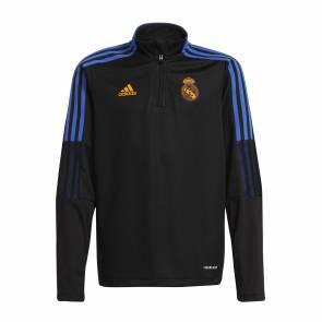 Training Top Adidas Real Madrid 2021-22 Noir Enfant