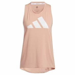 Débardeur Adidas 3-stripes Logo Rose Femme