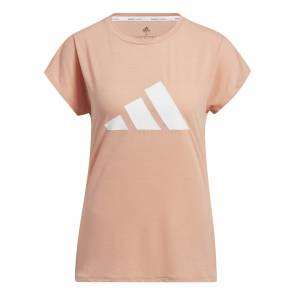 T-shirt Adidas 3-stripes Training Rose Femme