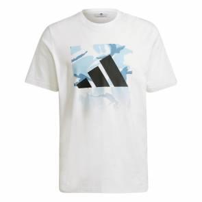 T-shirt Adidas Graphic Blanc