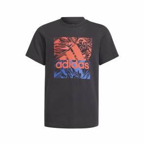 T-shirt Adidas Graphic Noir Enfant